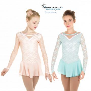 c81ab7a50b Elite Xpression pastel lace dress
