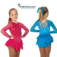 Robe de patinage Chain Effect