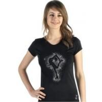 T-Shirt sagester Patineuse Swarovski