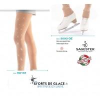 Collants sans pieds sagester Opaque +
