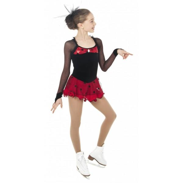 tunique de patinage wonder girl sports de glace france. Black Bedroom Furniture Sets. Home Design Ideas