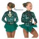 Robe de patinage Emeraldella