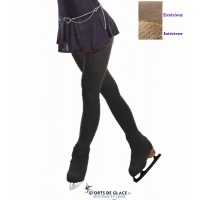 Collants avec cache patins polaires