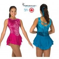 Robe de patinage Sweep of Sequins