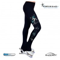 Snowflake Supplex heel pants