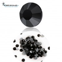 Hotfix High Quality Crystal Black Jet rhinestones
