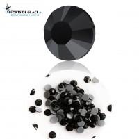 Strass noirs Cristal Jet 4 mm
