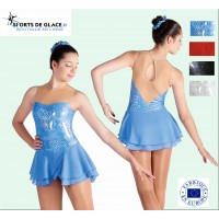 Robe de patinage Shining