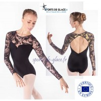 long sleeves Tatoo leotard
