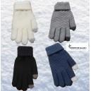 gants chauds tricotés tactile