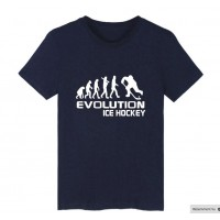 Ice Hockey Evolution men T shirt