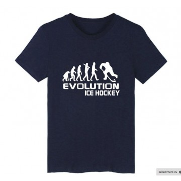 T Shirt Hockey sur glace Evolution