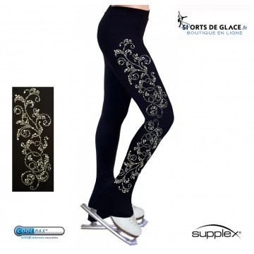 Pantalon de patinage motifs Rhinestuds