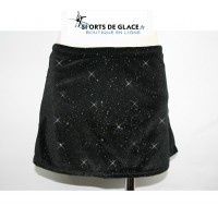 Gliiter velvet box skirt