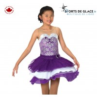 Robe de danse sur glace Violetta 10 ans