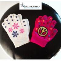 gants enfant à motifs