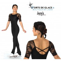 Lace Overlay Catsuit