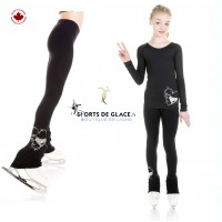 Bling Love Skating Legging
