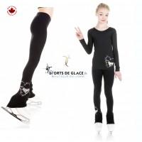 Legging Ice skate Love