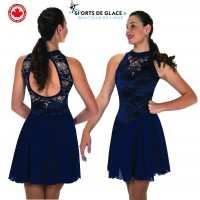 Jerry's Deep Edges dance dress - Navy