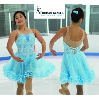Petals & Pivots ice Dance Dress