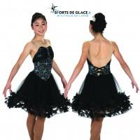 Petals & Pivots ice Dance Dress