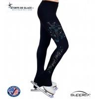 Pantalon de patinage Blue Snowflake