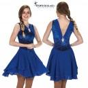 Blue Royalty Dress