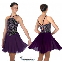 Jerry's Plum progressive ice dance dress