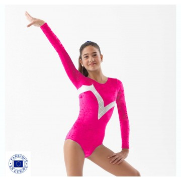 justaucorps Gym velours manches longues - SPORTS DE GLACE France 5208a2acaf0