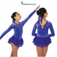 Tunique de patinage Royal Purple