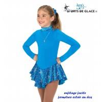 Robe de patinage polaire Finest turquoise