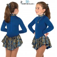 Blue Finest Fleece Dress