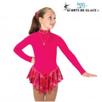Robe de patinage polaire Finest rose