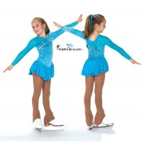 Tunique de patinage Cerulean