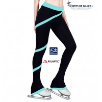 NY2 aqua spiral fleece pants