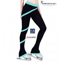 Pantalon de patinage polaire Spirale Aqua
