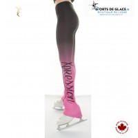 Legging de patinage Xpression Tie n Dye