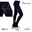 NY2 glitter ice skater pants