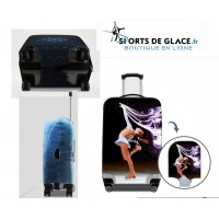 Ice skating Luggage Cover