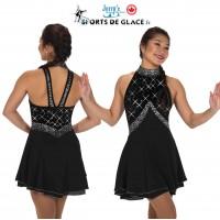 Robe de patinage Black Eglantine