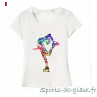 T shirt patinage Artistix