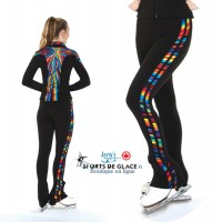 Fireworks stripe skating pants