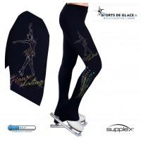 Snowflake Supplex heel pants