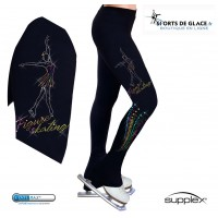 Pantalon de patinage Patineuse latino