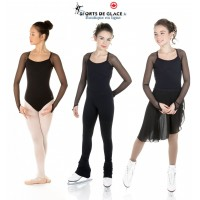 Long sleeves black leotard