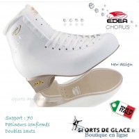 Patins Edea Chorus - bottines ivoire