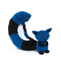 Protège lames Queue chaton bleu