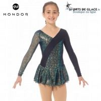 Mondor Black Sparkly skating dress