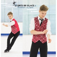 Gilet boléro de patinage